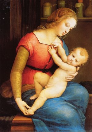 Reproduction oil paintings - Raphael - The Virgin of the House of Orleans