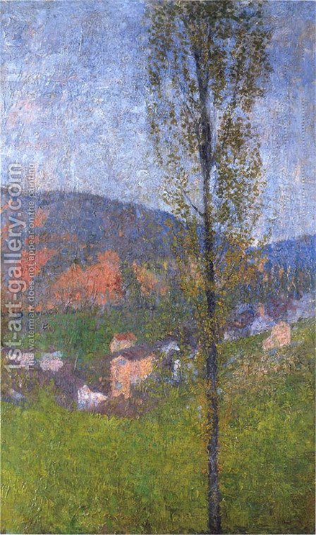 Labastide du Vert by Henri Martin - Reproduction Oil Painting