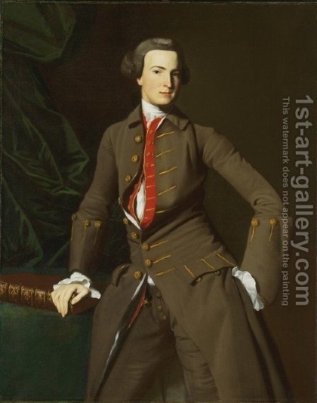 Portrait of the Salem by John Singleton Copley - Reproduction Oil Painting