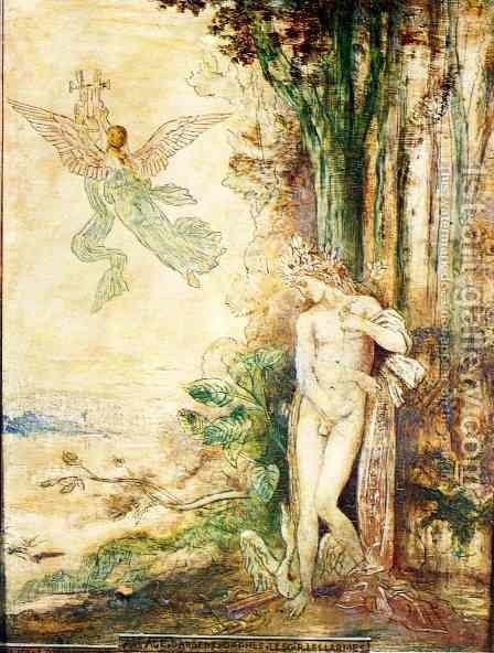 Silver Age (Orpheus) by Gustave Moreau - Reproduction Oil Painting