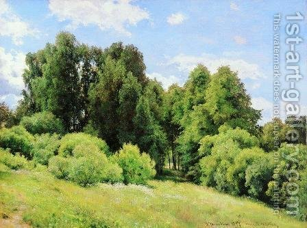 Forest Glade (Glade) by Ivan Shishkin - Reproduction Oil Painting