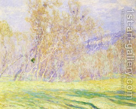 Spring by Guy Rose - Reproduction Oil Painting