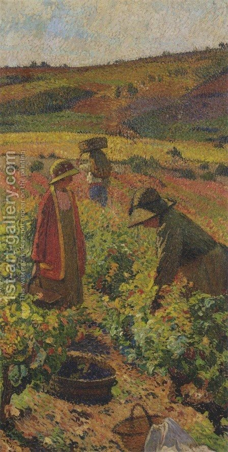 Gathering by Henri Martin - Reproduction Oil Painting