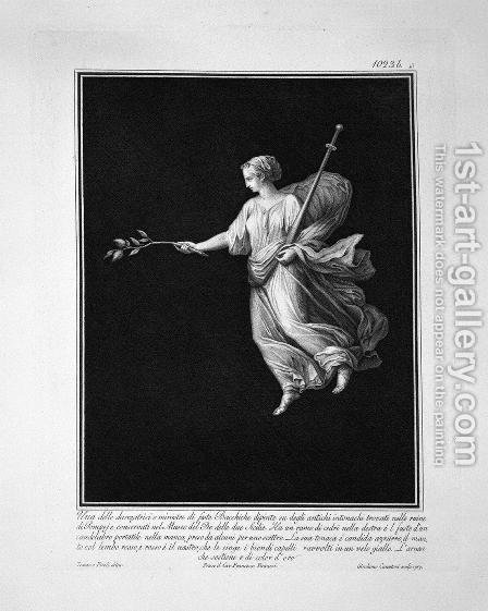 Dancer, taken from a painting of ancient Pompeii by Giovanni Battista Piranesi - Reproduction Oil Painting