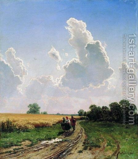 Noon. Suburbs of Moscow. Bratsevo by Ivan Shishkin - Reproduction Oil Painting