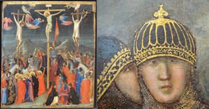 Reproduction oil paintings - Giotto Di Bondone - Crucifixion 2