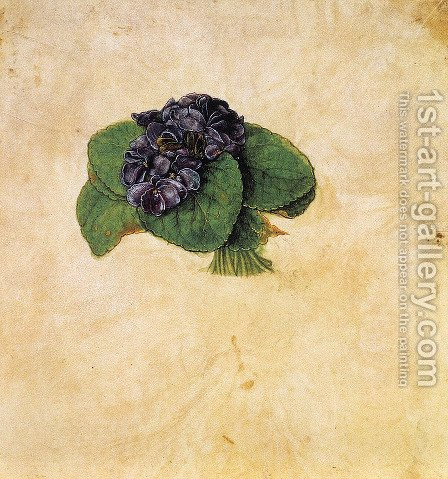 Violet Bouquet by Albrecht Durer - Reproduction Oil Painting
