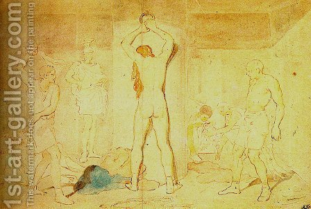 Flagellation of Christ by Alexander Ivanov - Reproduction Oil Painting