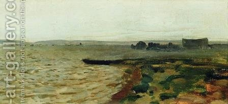 Riverbank by Isaak Ilyich Levitan - Reproduction Oil Painting