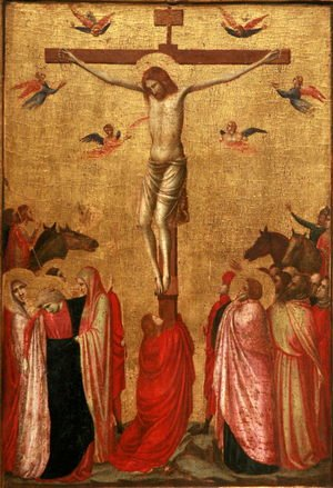 Reproduction oil paintings - Giotto Di Bondone - Crucifixion (2) 1330s