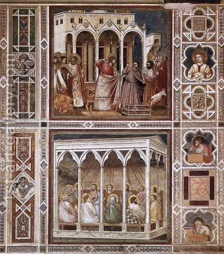 Giotto Di Bondone: Decorative Bands - reproduction oil painting