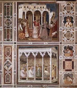 Reproduction oil paintings - Giotto Di Bondone - Decorative Bands