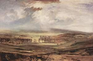 Reproduction oil paintings - Turner - Raby Castle, Residence of the Earl of Darlington