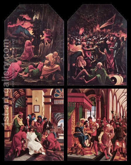 Passion of Christ by Albrecht Altdorfer - Reproduction Oil Painting
