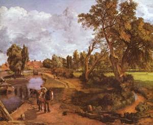 Reproduction oil paintings - John Constable - Flatford Mill 2