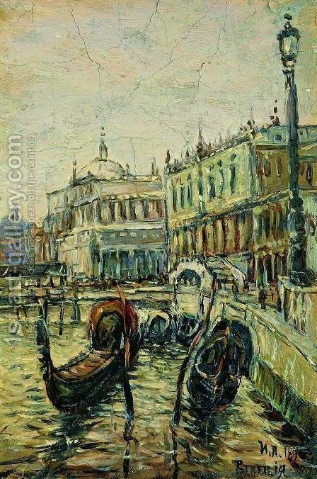 Venice by Isaak Ilyich Levitan - Reproduction Oil Painting