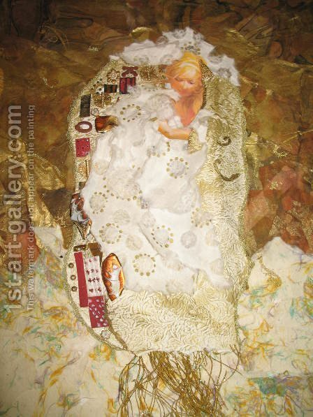 Ode To Klimt by Gustav Klimt - Reproduction Oil Painting