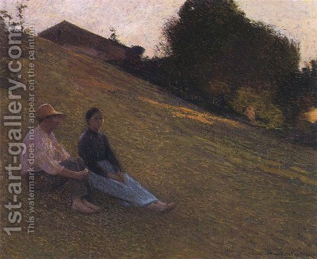 Rest by Henri Martin - Reproduction Oil Painting