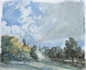 Reproduction oil paintings - John Constable - Hampstead