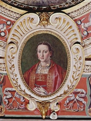 Eleonora of Toledo, daughters of the viceroy of Naples Pedro of Toledo, wife to Cosimo I de Medici, Duke of Florence and Siena
