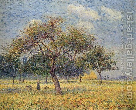Apple Trees in October by Gustave Loiseau - Reproduction Oil Painting