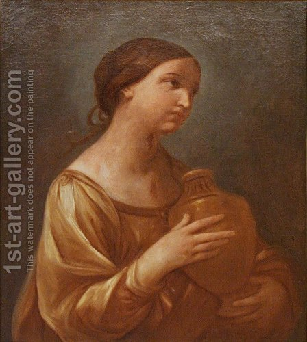 Magdalene with the Jar of Ointment by Guido Reni - Reproduction Oil Painting