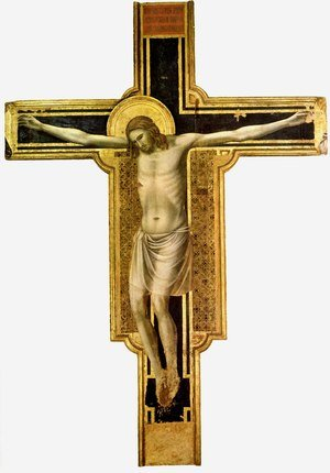 Reproduction oil paintings - Giotto Di Bondone - The Crucifixion 2