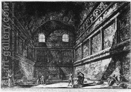 Vedute di Roma 38 by Giovanni Battista Piranesi - Reproduction Oil Painting