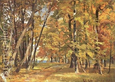 Early Autumn by Ivan Shishkin - Reproduction Oil Painting