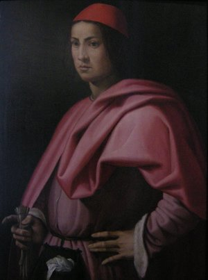 Portrait of a gentleman of Florence