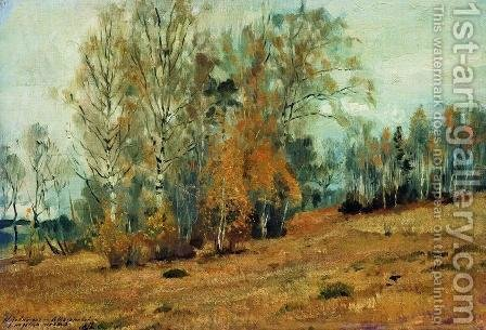Autumn 3 by Isaak Ilyich Levitan - Reproduction Oil Painting