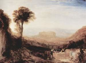 Reproduction oil paintings - Turner - View of Orvieto
