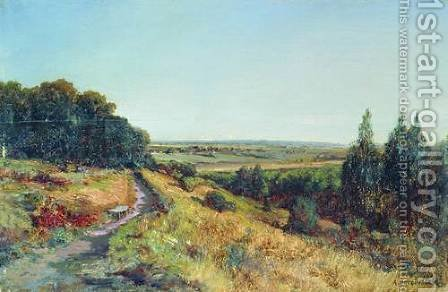 Radishchevskaya estate of Bogolyubov (homestead Ablyazov) by Aleksei Petrovich Bogolyubov - Reproduction Oil Painting
