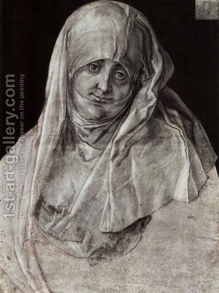 St. Anna (Portrait of Agnes Durer) by Albrecht Durer - Reproduction Oil Painting