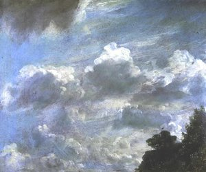 Reproduction oil paintings - John Constable - Cloud Study 6