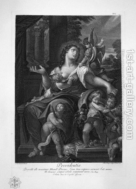 Jupiter and Antiope Palma by Giovanni Battista Piranesi - Reproduction Oil Painting