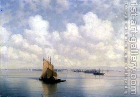 Seascape 6 by Ivan Konstantinovich Aivazovsky - Reproduction Oil Painting
