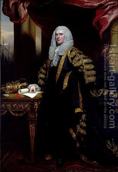 Henry Addington, First Viscount Sidmouth by John Singleton Copley - Reproduction Oil Painting