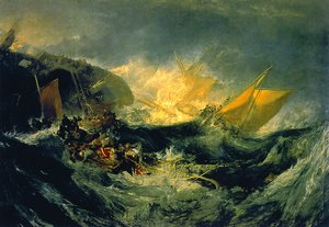 Reproduction oil paintings - Turner - Shipwreck