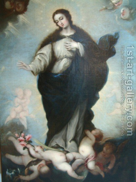 Immaculate Conception by Alonso Cano - Reproduction Oil Painting