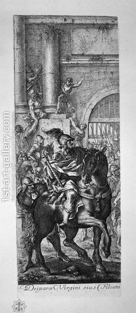 Jesus carried to Calvary 2 by Giovanni Battista Piranesi - Reproduction Oil Painting