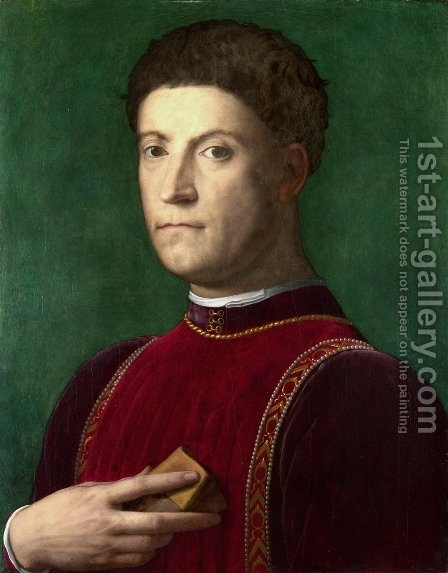 Piero de Medici il Gottoso by Agnolo Bronzino - Reproduction Oil Painting