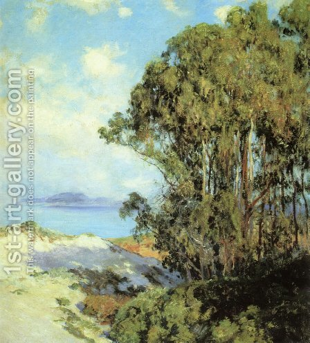 Lifting Fog, Carmel by Guy Rose - Reproduction Oil Painting