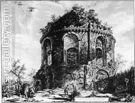 Vedute di Roma 52 by Giovanni Battista Piranesi - Reproduction Oil Painting