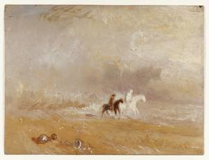 Reproduction oil paintings - Turner - Riders on a Beach