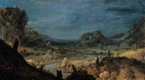 Famous paintings of Nautical: River valley