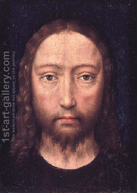 Head of Christ by Hans Memling - Reproduction Oil Painting