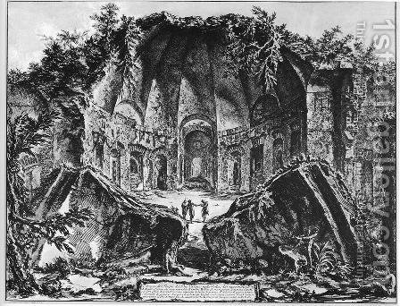 Vedute di Roma 57 by Giovanni Battista Piranesi - Reproduction Oil Painting