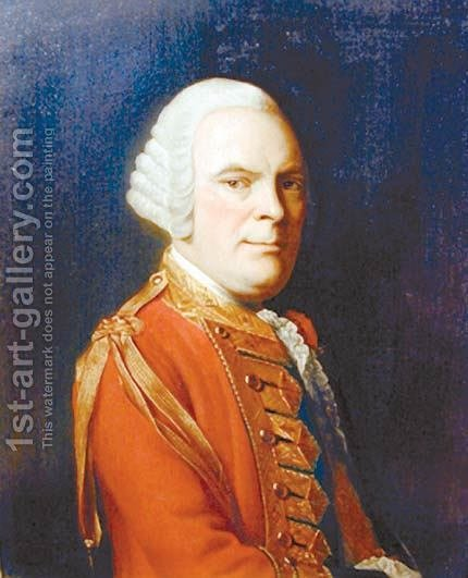 General Sir James Abercromby (also spelled Abercrombie) by Allan Ramsay - Reproduction Oil Painting