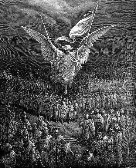 The Road to Jerusalem by Gustave Dore - Reproduction Oil Painting